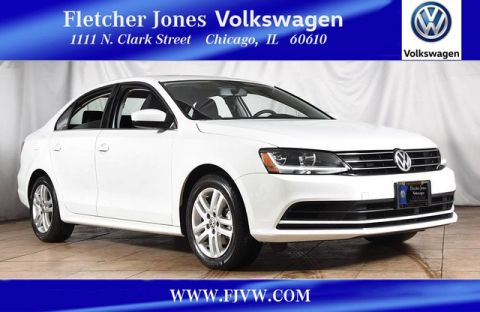 Certified Pre-Owned 2017 Volkswagen Jetta 1.4T S Front Wheel Drive Sedan