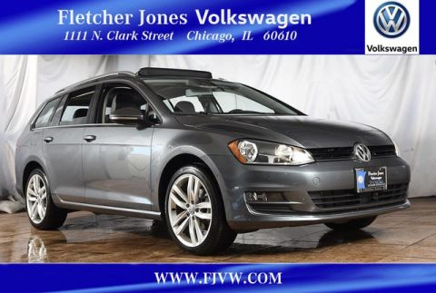Certified Pre-Owned 2016 Volkswagen Golf SportWagen TSI SEL Front Wheel Drive Hatchback