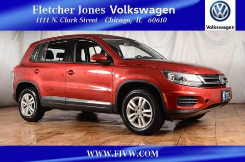 Certified Pre-Owned 2014 Volkswagen Tiguan S Front Wheel Drive SUV