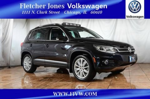 Certified Pre-Owned 2016 Volkswagen Tiguan 4motion SE AWD