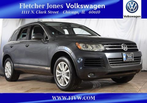 Certified Pre-Owned 2013 Volkswagen Touareg Sport Four Wheel Drive SUV